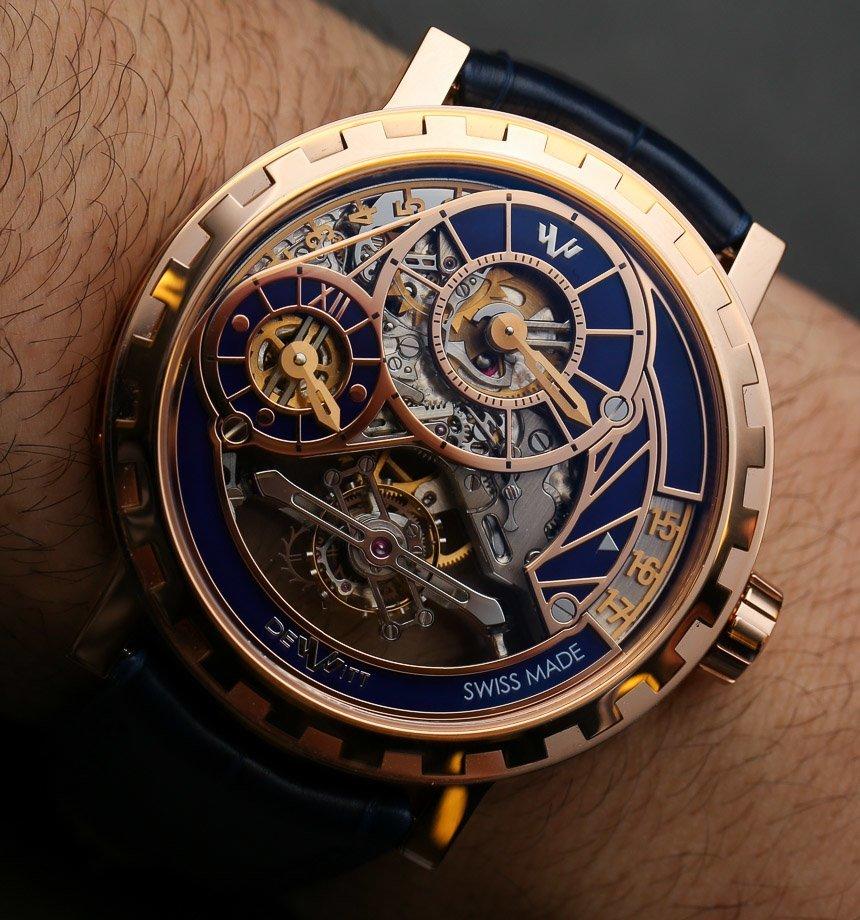 DeWitt Academia Grand Tourbillon Watch Hands On Fan of