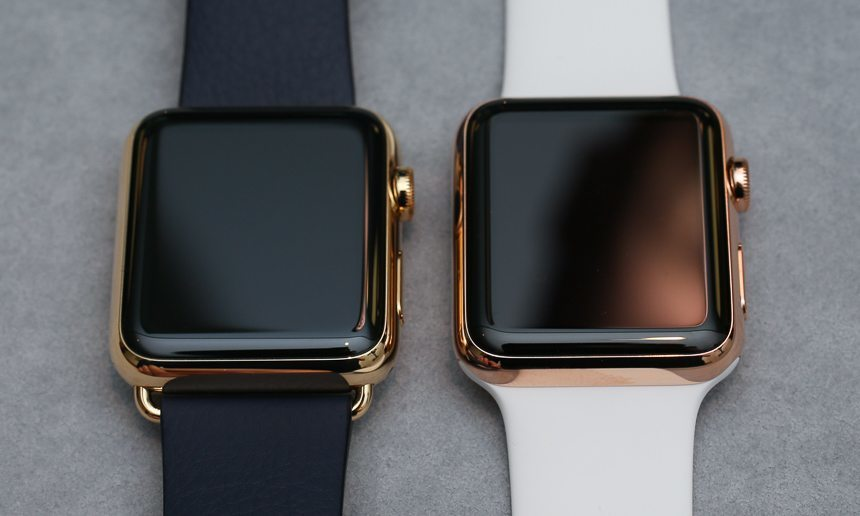 18k Solid Gold Apple Watch 5 and
