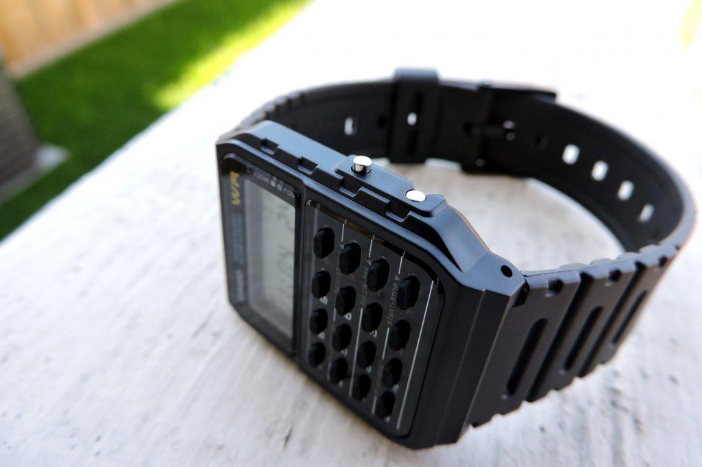 Casio CA-53W Databank Calculator Watch