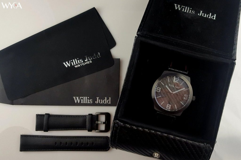 Willis Judd Carbon Fiber Watches Unboxing