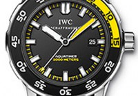 IWC IW3548-05. The NEW Aquatimer Automatic with a Uni-Directional Turning Bezel located beneath the crystal, the bezel is operated by the additional crown located at the 4 o'clock position. White Luminous Hands & Hour Markers. Power Reserve of 42 hours. IWC Patented Bracelet can be easily sized - no special tool or screwdrivers necessary. This watch is also known as IW354805, 354805, 3548-05; Water Resistant 1000m/3300ft; Case Diameter 42mm; Case Thickness 12.8mm; Warranty Prestige Time 2 Year Warranty IWC IW372304. From the NEW Aquatimer Collection - This IWC Aquatimer Split Minute Chronograph Mens Titanium Black Dial Automatic IW372304 watch features: A revolutionary new Split- Minute feture controlled by the lever/switch on the left side of the watch, Date window at the 6 o'clock position, Stop watch functions & a Uni-Directional Turning Bezel located beneath the crystal, the bezel is operated by the lower crown located at the 4 o'clock position (this crown also doubles as the Chronograph Reset button). Yellow Luminous Hands & Hour Markers. Power Reserve of 44 hours. This watch is also known as IW372304, 372304, 3723-04 IWC IW372301.From the NEW Aquatimer Collection - This IWC Aquatimer Split Minute Chronograph watch features: A revolutionary new Split- Minute feture controlled by the lever/switch on the left side of the watch, Date window at the 6 o'clock position, Stop watch functions & a Uni-Directional Turning Bezel located beneath the crystal, the bezel is operated by the lower crown located at the 4 o'clock position (this crown also doubles as the Chronograph Reset button). Yellow Luminous Hands & Hour Markers. Power Reserve of 44 hours. IWC Patented Bracelet can be easily sized - no special tool or screwdrivers necessary.