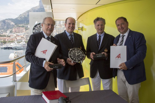 Prince of Monaco Foundation and the Albert II Blancpain formal institutional partnerships