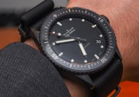 All Black Blancpain Fifty Fathoms Watch