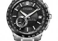 Citizen Eco-Drive World Time GPS Satellite Wave