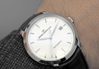 Girard-Perregaux 1966 In Stainless Steel Hand On Watch