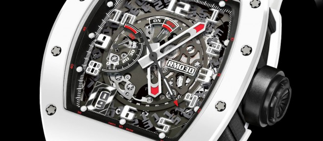 "Richard Mille RM 030 Automatic ""White Rush"""