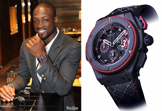Hublot famous nba star sport watch fan of fashion wrist watches for Celebrity seiko watch