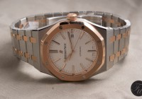 Reviewing Audemars Piguet Royal Oak 15400 Two-Tone