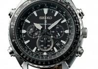 Seiko Prospex World Time Chronograph Watch