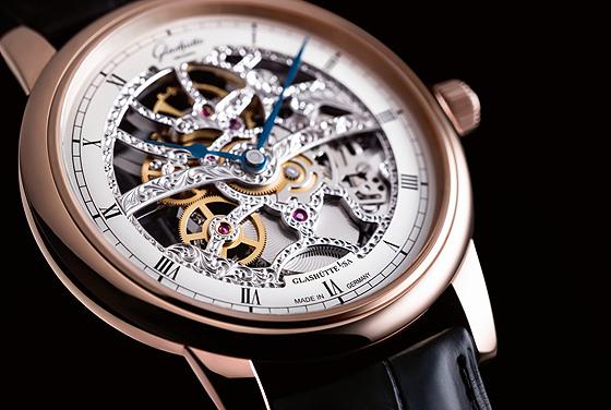 Glashütte Original Standout Skeleton Watch