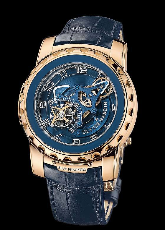 "Ulysse Nardin Freak ""Blue Phantom"