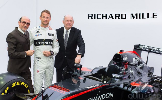 Richard Mille Also Runs For Haas F1 Team