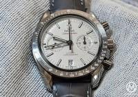 "Omega Speedmaster ""Lunar Dust"" Hands-On Watch"