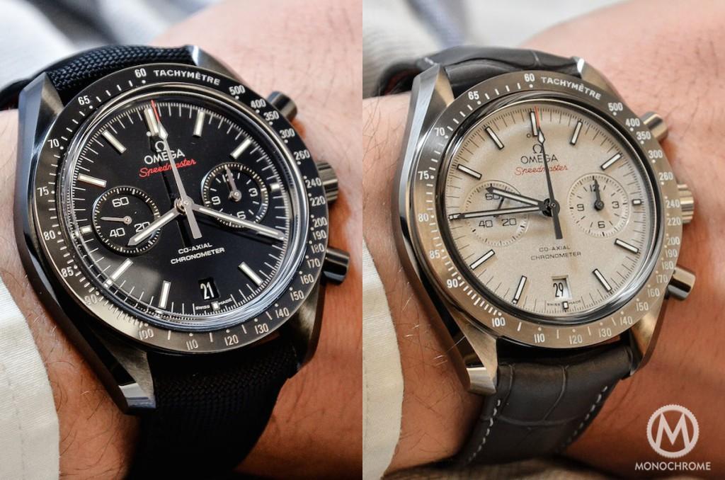 """Omega Speedmaster """"Lunar Dust"""" Hands-On Horloge"""