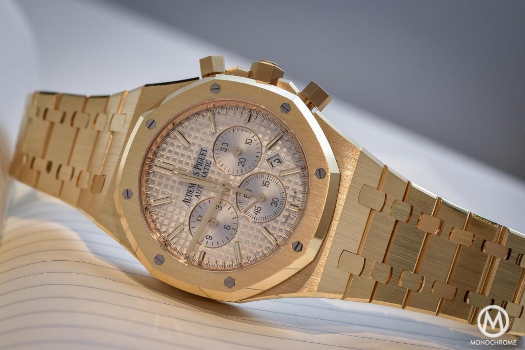 The Audemars Piguet Royal Oak Gold Hands-On Watch