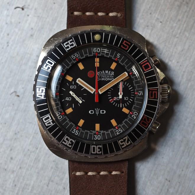 The Roamer Stingray Chrono Diver Watch