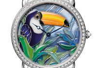 Ronde Louis Cartier 42-mm watch, toucan
