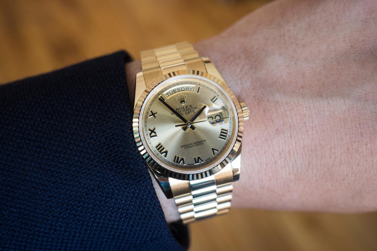 In-Depth Conspicuously Consumed – The Rolex Day-Date, In ...Rolex Datejust 36mm On Wrist