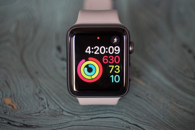 Apple Watch Series 2 Digital Fitness face