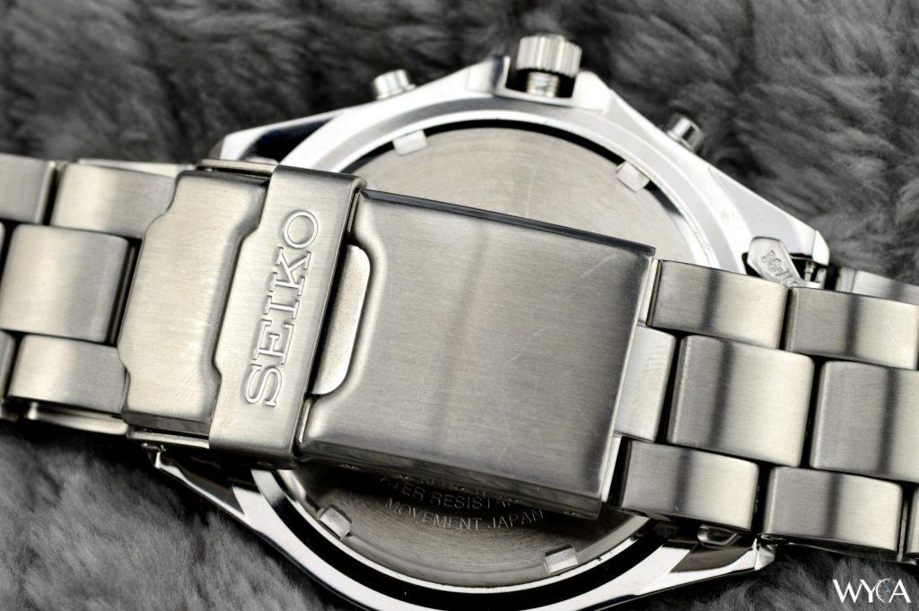 Seiko Flightmaster Pilot SND255P1 Bracelet & Clasp