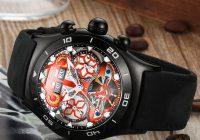 Unique Visual Dynamic: Reef Tiger Aurora Air Bubble RT6500 Automatic Wrist Watch