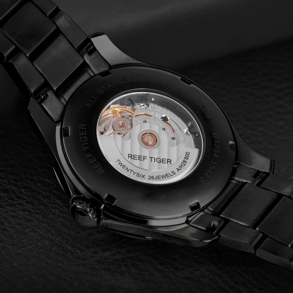 Refined And Elegant Temperamentl:Reef Tiger Seattle Space Needle Watch