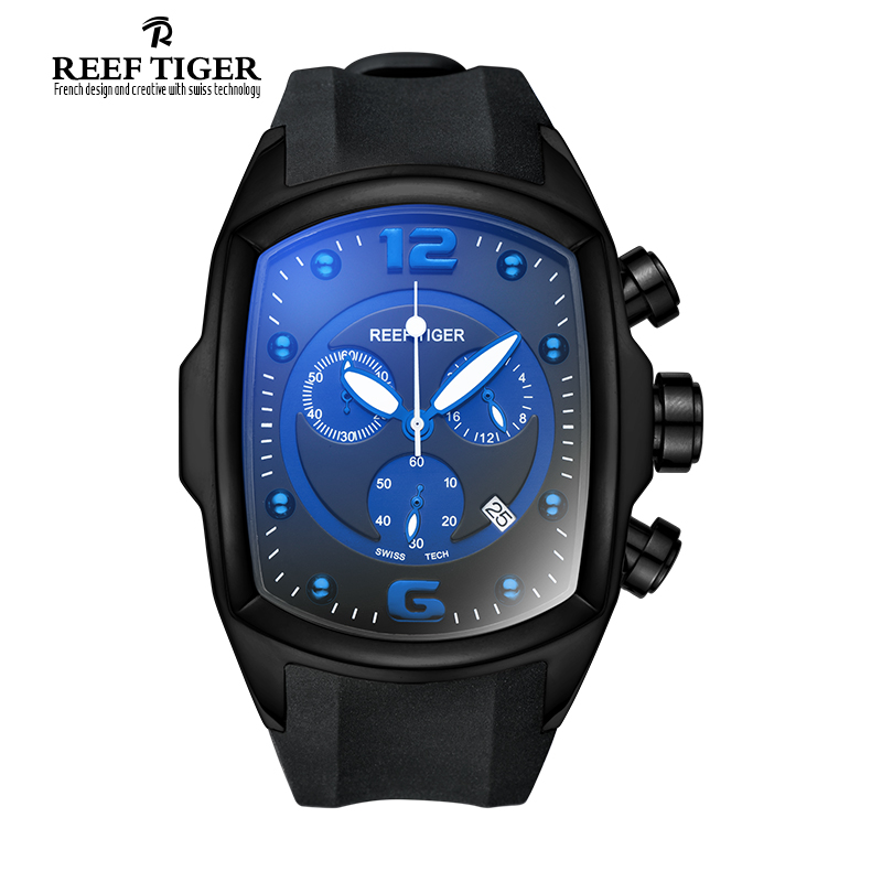 Unique And Fashionable Men's Watch: Reef Tiger Aurora Rally S1 Men's Quartz Wrist Watch