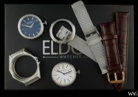 Eldon interchangeable watches - disassembled