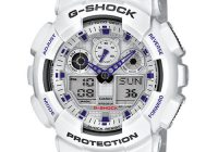 Casio G-Shock Men's Watch GA-100A-7AER Review