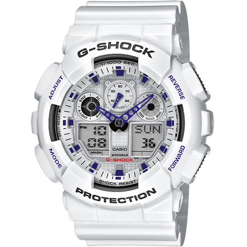 Casio G-Shock Men's Watch GA-100A-7AER Review