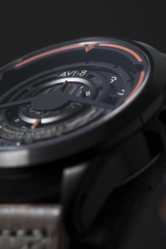 AVI-8 AV-4047 Watch Inspired By Hawker Harrier II Jet Engine Watch Releases