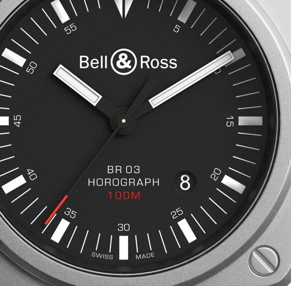 Bell & Ross BR 03-92 Horograph - Dial CU