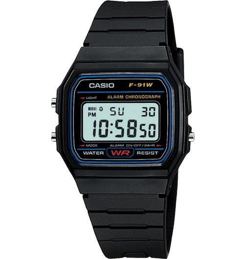 Casio F-91W Review Fantastic Digital Watch F-91W-1YER