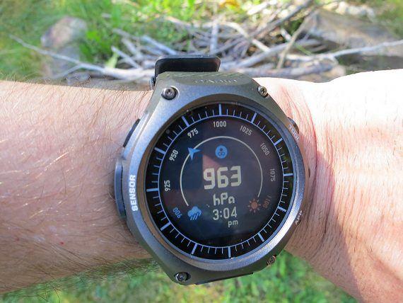 Casio Smart Outdoor Watch - barometer - wrist