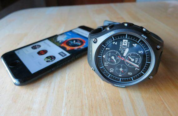 Casio Smart Outdoor Watch w/ iPhone