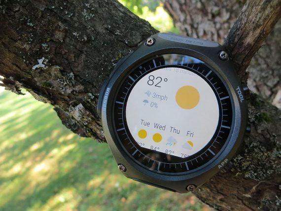 Casio Smart Outdoor Watch - weather