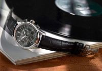 Frederique Constant Flyback Chronograph Manufacture - steel, black dial