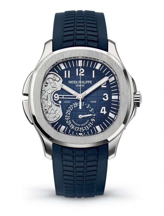Patek Philippe Aquanaut Travel Time Ref. 5650G - front
