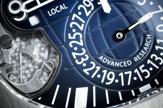 Patek Philippe Aquanaut Travel Time Ref. 5650G - subdial