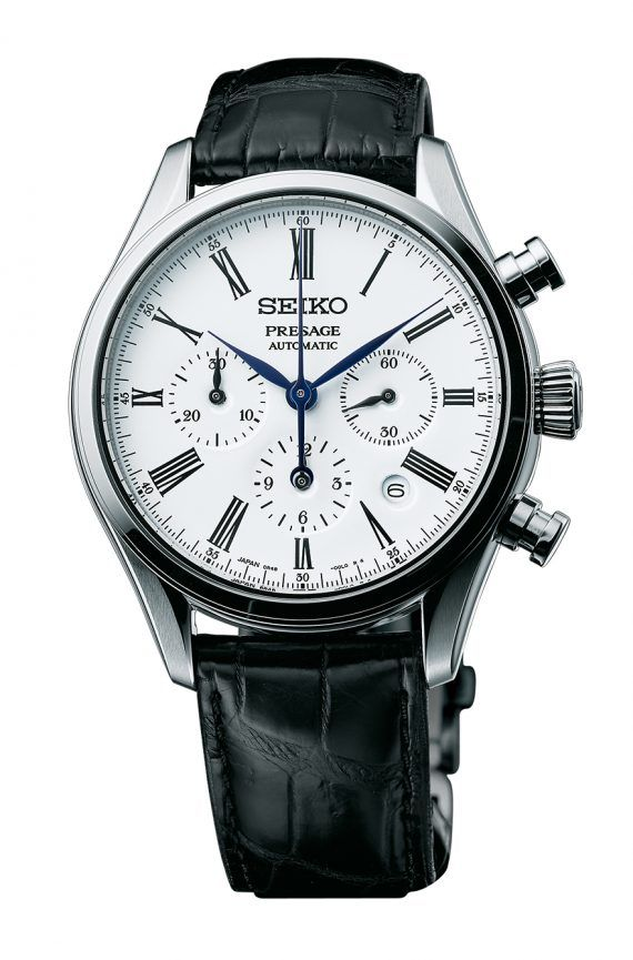 Seiko Presage SRQ023 Automatic Chronograph - front