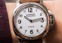 Panerai Luminor Base 8 Days Acciaio PAM561 Watch Review Wrist Time Reviews