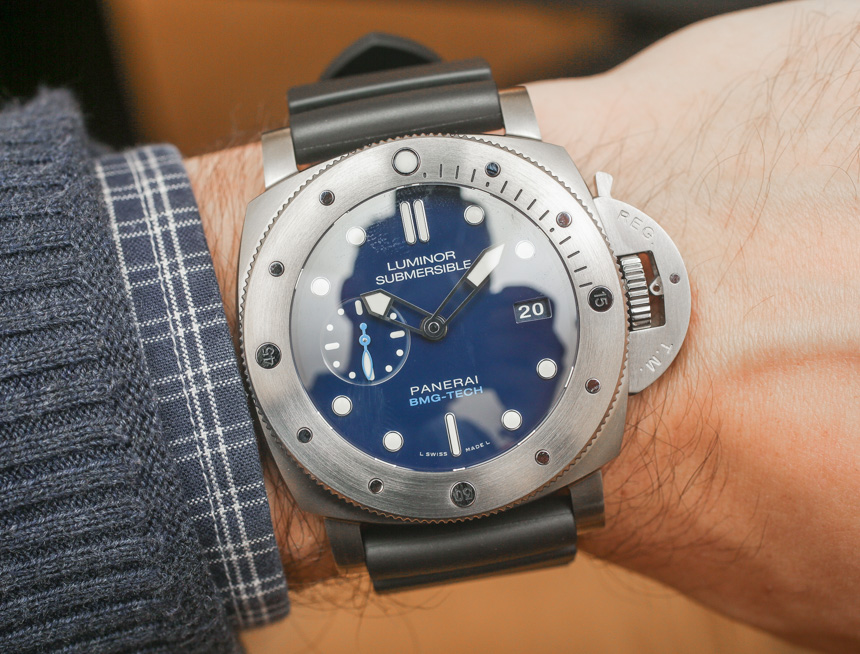 Panerai Luminor Submersible 1950 BMG-TECH 3-Days Automatic PAM 692 Watch Hands-On Hands-On