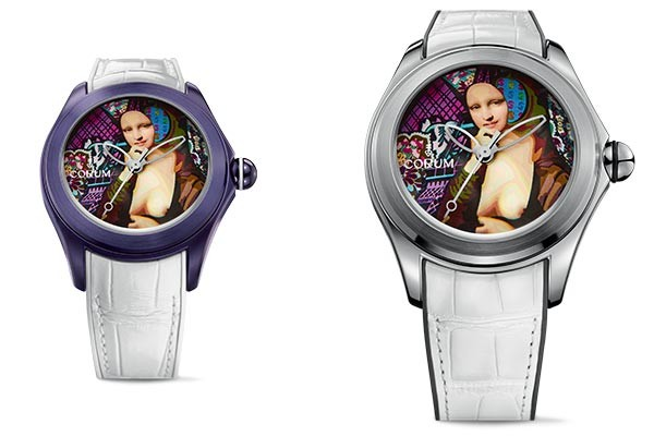 Corum Bubble Elisabetta Fantone