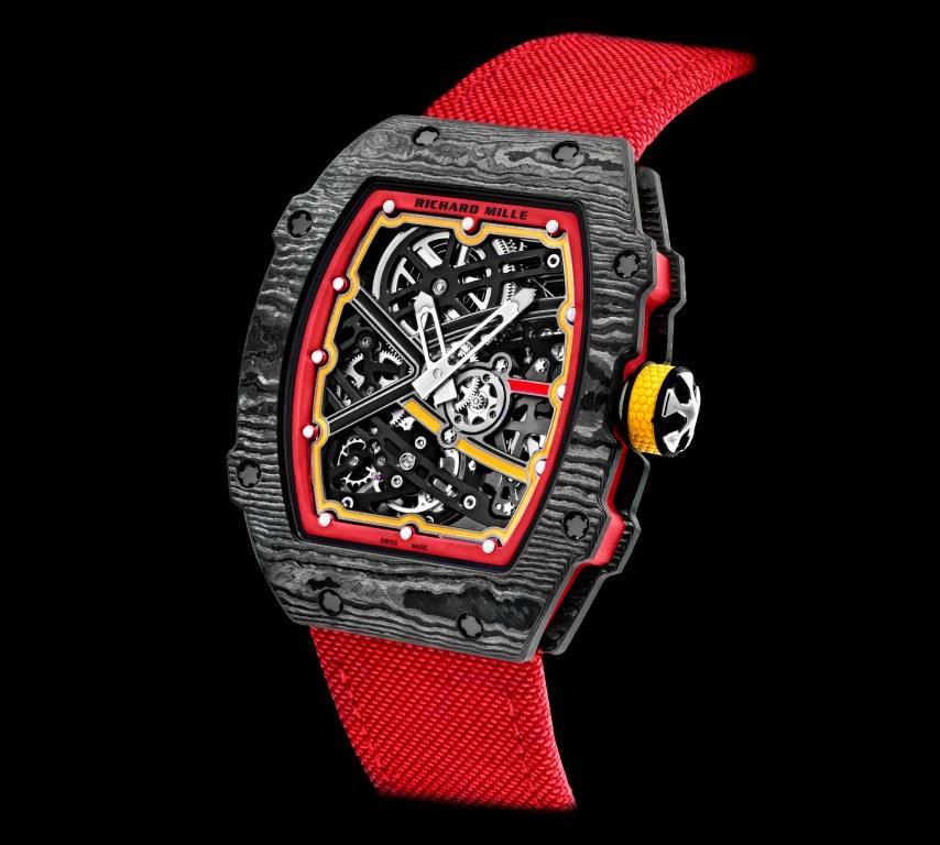 Alexander Zverev's watch