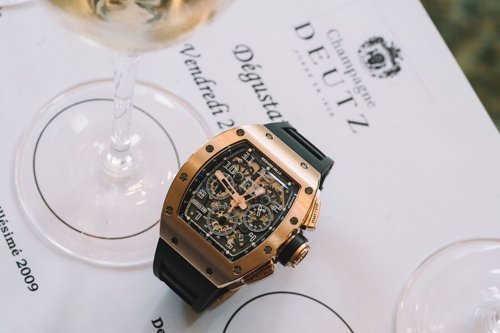 Richard Mille Deutz Champagne