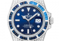 Rolex-Submariner-18K-White-Gold-Diamond